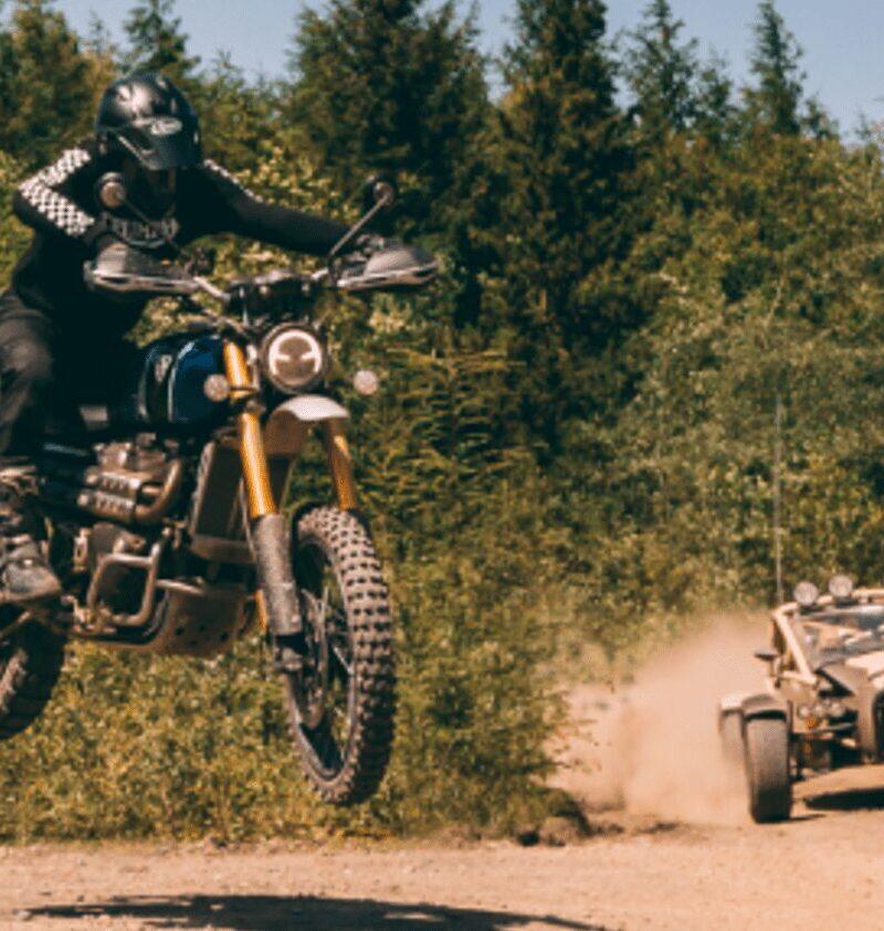 Triumph Motorcycles – Car Vs Bike