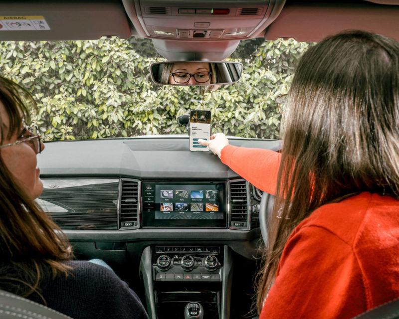 Skoda – Parent Taxi App